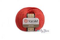 YarnArt Jeans, Красный №26