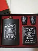 Подарочный набор Фляга Jack Daniсes Black, Подарунковий набір Фляга Jack Daniсes Black, Фляги