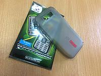Силиконовый чехол для Nokia E71 + пленка
