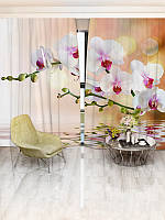 Фотошторы WallDeco Белые орхидеи (15061_4_ 2)