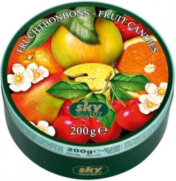 Льодяники Sky Candy Frucht Bonbons-Fruit Candies 200 г