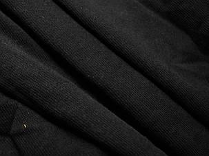 Лёгкая мужская кофта на молнии Чёрная размер M 62-160-36, фото 2