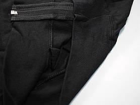Лёгкая мужская кофта на молнии Чёрная размер M 62-160-36, фото 3