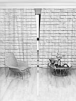 Фотошторы WallDeco Белая стена (15506_4_ 2)