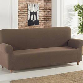 Однотонные чехлы на трехместный диван