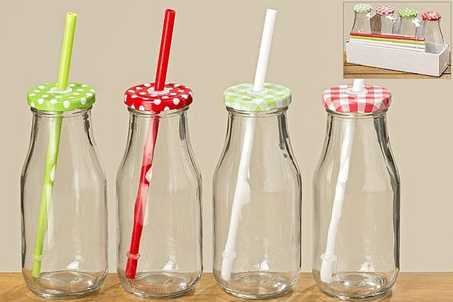 Набор бутылок для вечеринок стекло h16см Гранд Презент 7025800