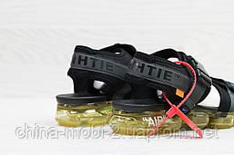 Мужские  сандалии  Nike, темно-серые (Топ реплика ААА+) 5539, фото 2