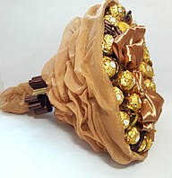 Букет Gift for Soul из конфет Торжество Ferrero Rocher Коричневый РР 1505