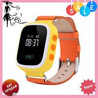 Детские Смарт-часы Smart baby Watch Q60 ОРАНЖИВЫЕ, фото 1
