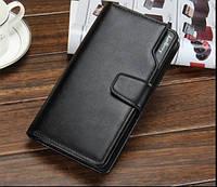 Мужской кошелек Baellerry Business Black, Чоловічий гаманець Baellerry Business Black