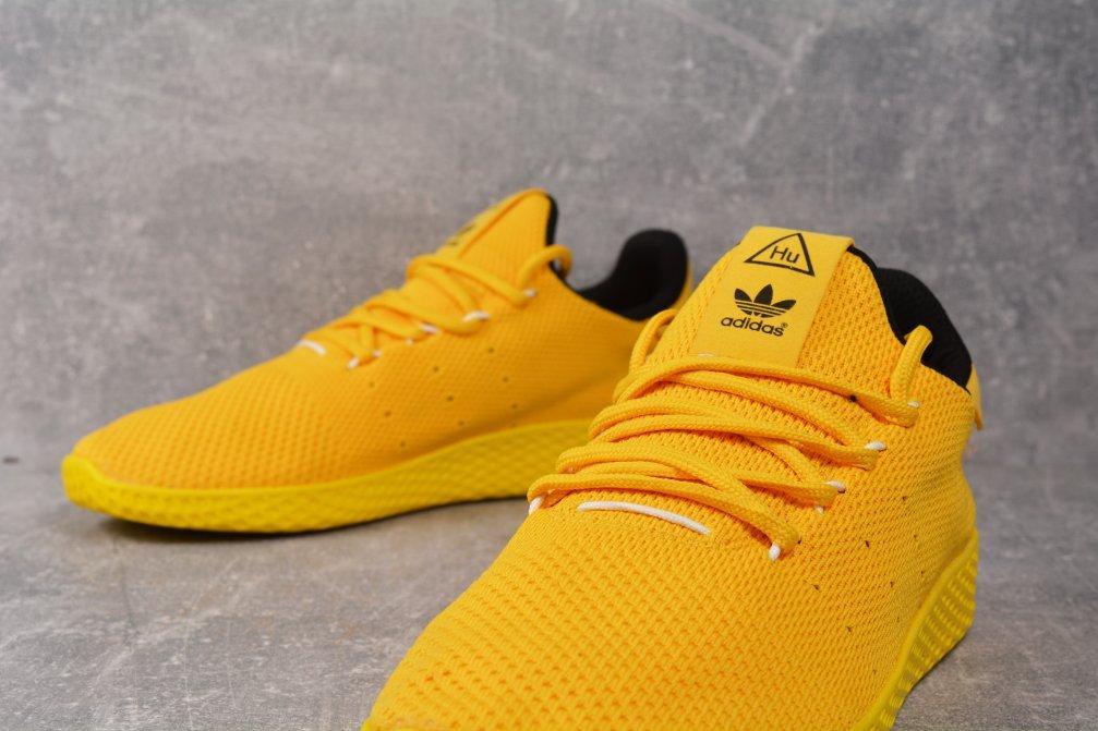 5dca9df03784ab Кроссовки желтые Adidas Pharrell Williams Yellow Адидас Фаррелл Уильямс