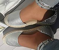 босоножки эспадрильи женские  41 размер
