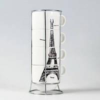 Набор чашек Париж 21 см, Набір чашок Париж 21 см, Оригинальные чашки и кружки