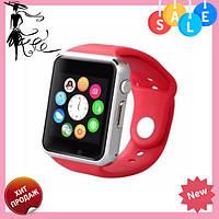 Смарт-часы Smart Watch A1 КРАСНЫЕ, фото 1