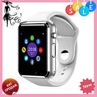 Смарт-часы Smart Watch A1 БЕЛЫЕ, фото 1