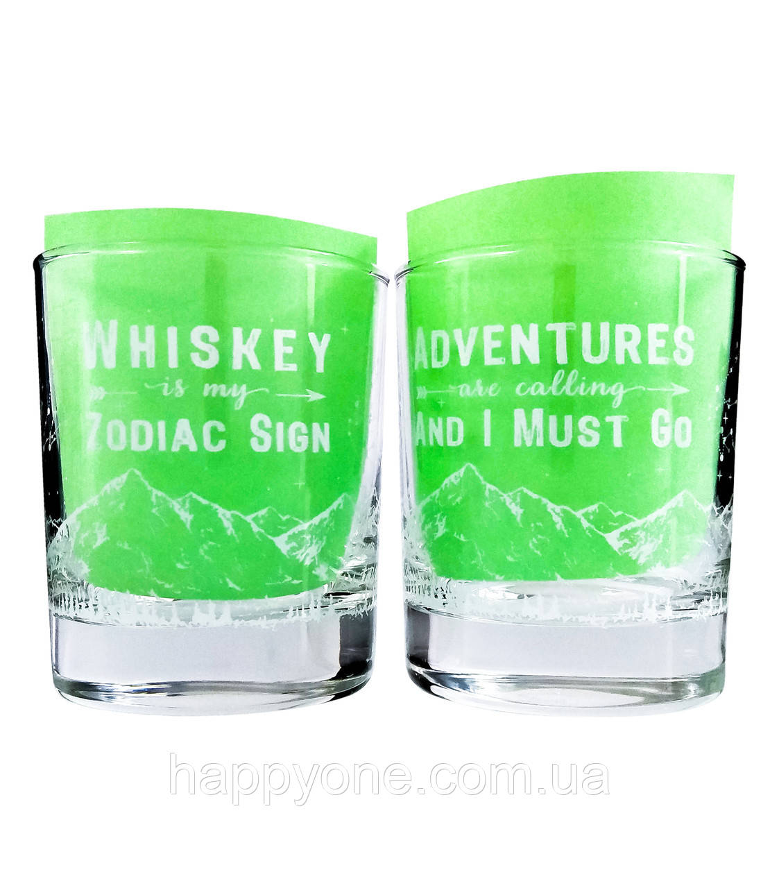 "Набор стаканов для виски ""Adventures"" (2x270 мл)"