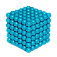 Неокуб NeoCube ГОЛУБОЙ ОКЕАН [5мм * 216 шариков] + Металлическая Коробка в Подарок