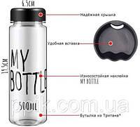 Бутылка MY BATTLE