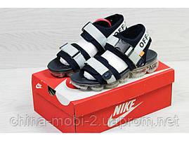 Мужские  сандалии  Nike, серые (Топ реплика ААА+) 5540, фото 2