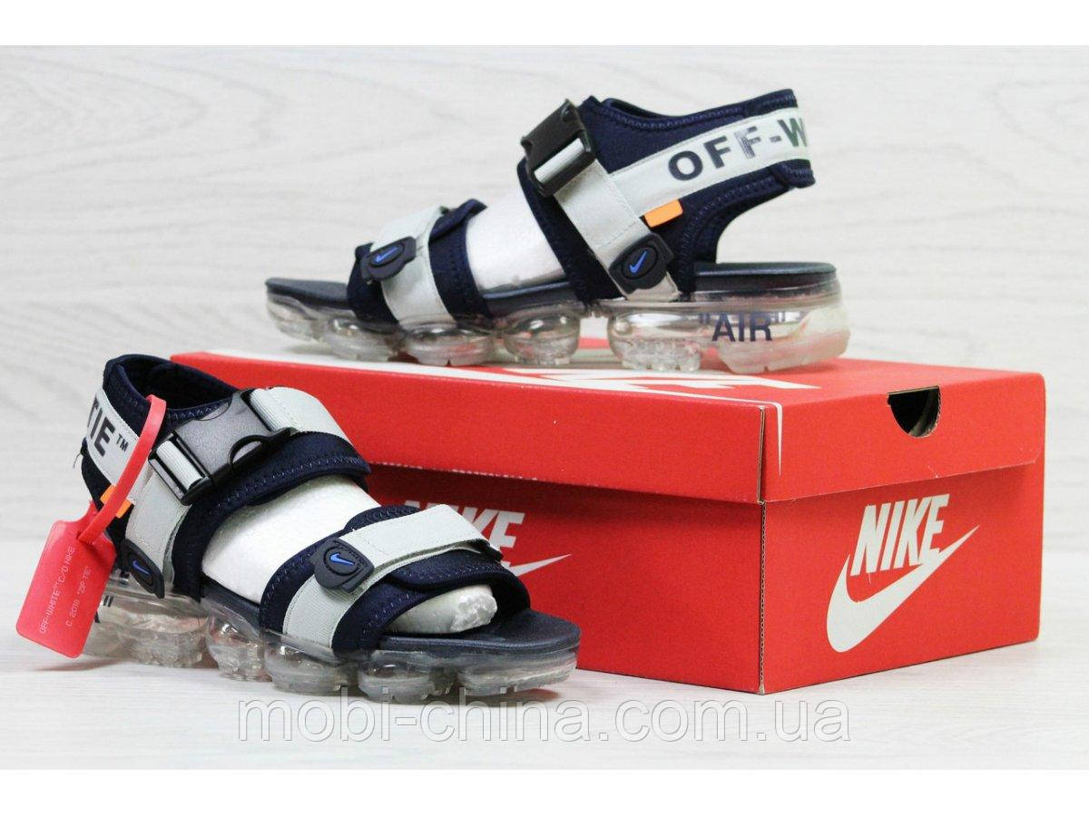 Мужские  сандалии  Nike, серые (Топ реплика ААА+) 5540