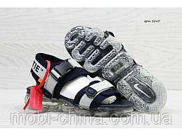 Мужские  сандалии  Nike, серые (Топ реплика ААА+) 5540, фото 3