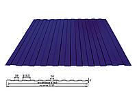 Профнастил  ПС-8 полиэстер (глянец)  0,38мм