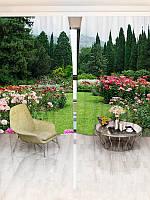 Фотошторы WallDeco Цветочный сад (20927_4_ 2)