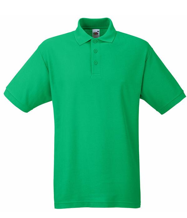 Мужское поло M Ярко-Зеленый