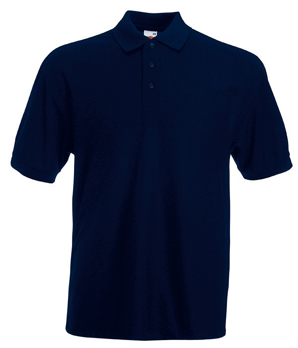 Мужская футболка поло 65/35 50, Глубокий Темно-Синий