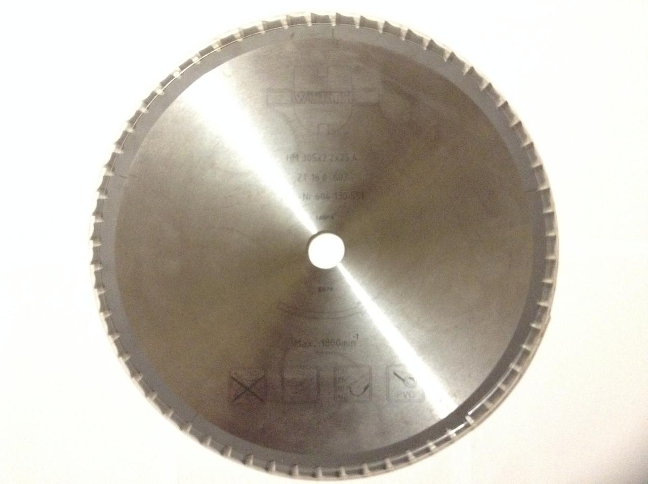 Высококачественный пильный диск WURTH для резки стали