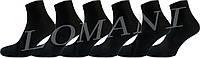"""Чоловічі шкарпетки бамбук чорний """"lomani"""""""