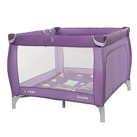 Манеж квадратний Carrello Grande CRL-9204/1, Orchid Purple