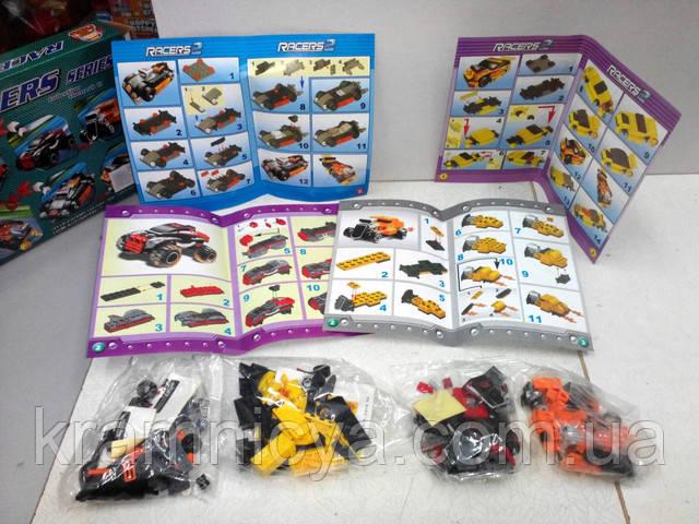 """Купить Конструктор """"RACERS"""" для мальчиков 4 в 1 в Крамниці Творчості"""