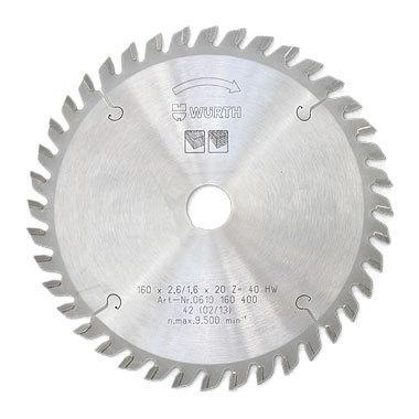Пила дисковая с переменными зубьями (AT) Wurth