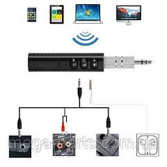 Блютуз гарнитура bluetooth адаптер AUX авто MP3 WAV Wireless Receiver BT450