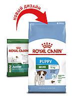 Сухой корм 4 кг для щенков мелких пород Роял Канин / MINI PUPPY Royal Canin