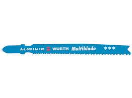Пилка для электролобзика по металлу 608116123 Wurth