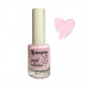 Лак для стемпінга Nail Story pastel 01, 11ml