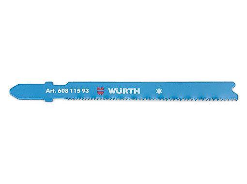 Пилка для электролобзика по металлу Wurth