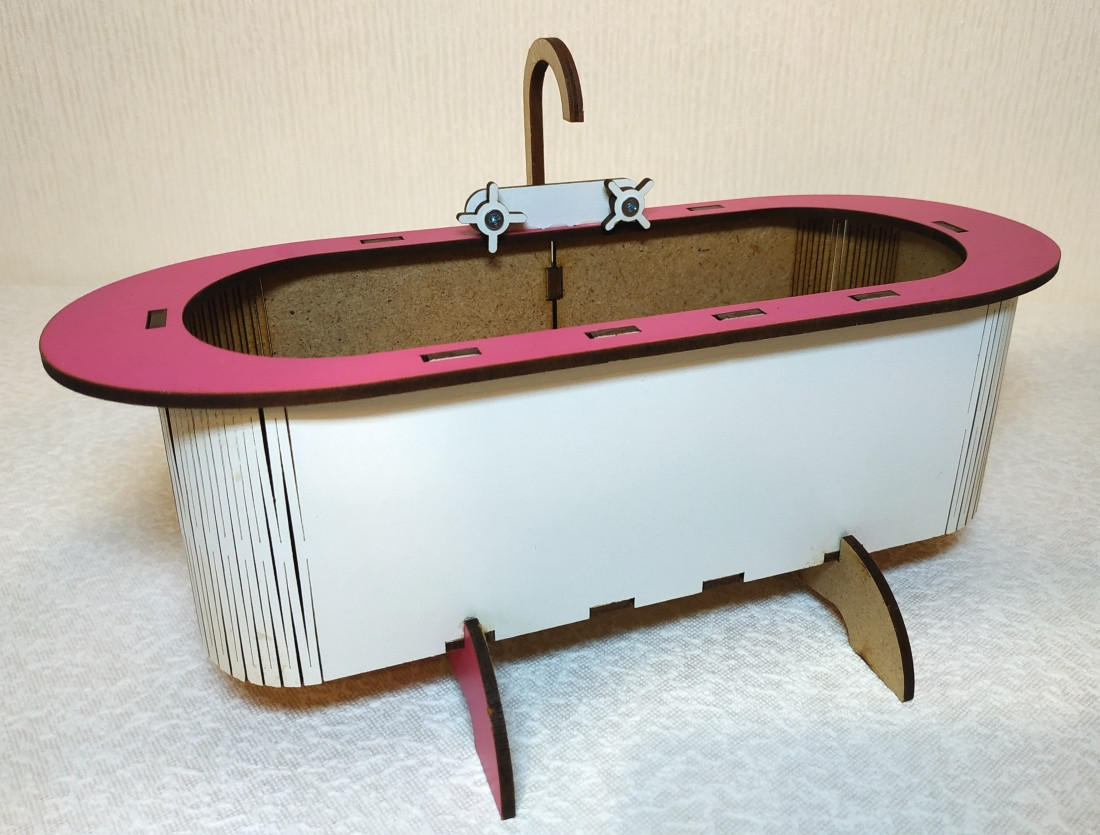 Игрушка Ванна 1 для куклы Барби