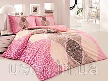 Комплект постельного белья полуторный размер ранфорс  ТМ Gokay Leonidas