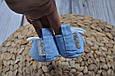 Пинетки хлопковые, Горох на голубом, фото 2
