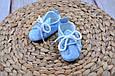 Пинетки хлопковые, Горох на голубом, фото 7