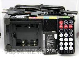 Акустика 6W Opera OP-8707 USB 220V, MP3 SD USB FM AUX черная, фото 3
