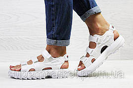 Женские сандалии  Fila, белые (Топ реплика ААА+) 5303, фото 2