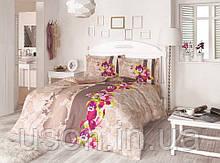 Комплект постельного белья полуторный размер ранфорс  ТМ Gokay Hercai