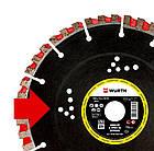 Высококачественный алмазный диск LONGLIFE & SPEED 3D EXTREME Wurth, фото 4