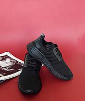 Кроссовки чисто черные Adidas NMD Runner All black