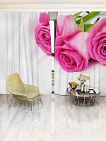 Фотошторы WallDeco Три розы (28397_1_ 2)