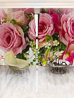 Фотошторы WallDeco Букет из роз (28398_4_ 2)